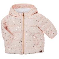 Textiel Meisjes Dons gevoerde jassen Carrément Beau ACAJOU Roze