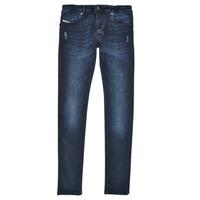 Textiel Jongens Skinny Jeans Diesel SLEENKER Blauw / Donker