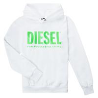 Textiel Kinderen Sweaters / Sweatshirts Diesel SDIVISION LOGOX OVER Wit