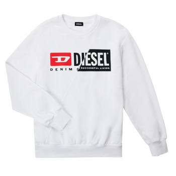 Textiel Kinderen Sweaters / Sweatshirts Diesel SGIRKCUTY OVER Wit