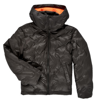 Textiel Jongens Dons gevoerde jassen Diesel JTHERMO Zwart