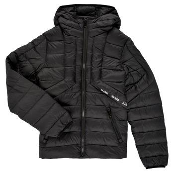 Textiel Jongens Dons gevoerde jassen Diesel JDWAIN Zwart