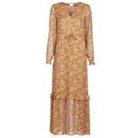 Textiel Dames Lange jurken Vila VIFALIA Cognac
