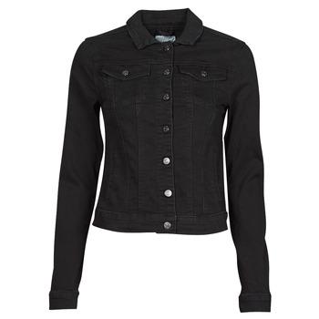 Textiel Dames Spijker jassen Vila VISHOW Zwart