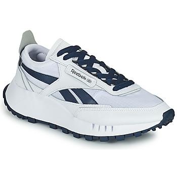 Schoenen Lage sneakers Reebok Classic CL LEGACY Wit / Blauw