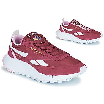Schoenen Dames Lage sneakers Reebok Classic CL LEGACY Bordeaux / Wit