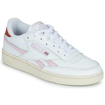 Schoenen Dames Lage sneakers Reebok Classic CLUB C REVENGE Wit / Roze