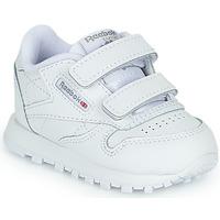 Schoenen Kinderen Lage sneakers Reebok Classic CL LTHR 2V Wit