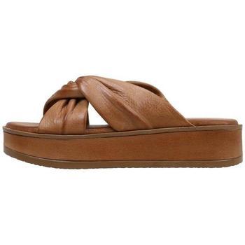 Schoenen Dames Leren slippers Sandra Fontan  Brown