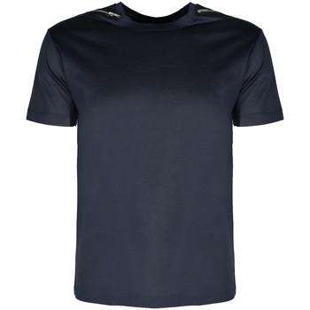 Textiel Heren T-shirts korte mouwen Les Hommes  Blauw