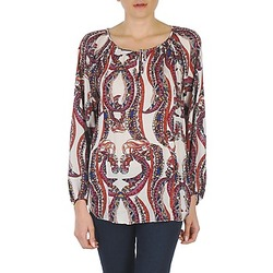Textiel Dames Tops / Blousjes Antik Batik BARRY Orange / Multi
