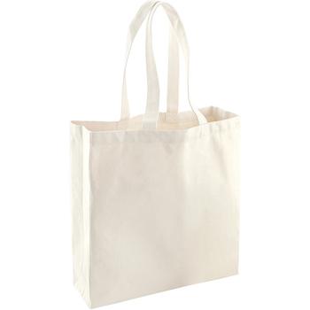 Tassen Tote tassen / Boodschappentassen Westford Mill WM623 Natuurlijk