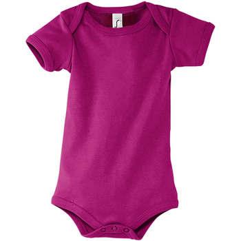 Textiel Jongens Hemden Sols BAMBINO FUCSIA Violeta