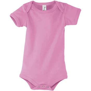 Textiel Jongens Hemden Sols BAMBINO ROSA ORQUIDEA Negro