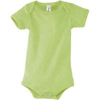 Textiel Jongens Hemden Sols BAMBINO VERDE MANZANA Verde