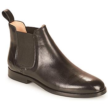 Schoenen Dames Laarzen Melvin & Hamilton SUSAN 10 Zwart