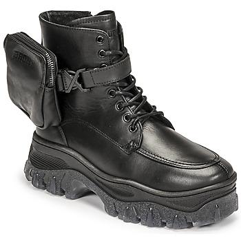 Schoenen Dames Laarzen Bronx JAXSTAR MID Zwart