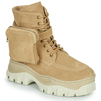 Schoenen Dames Laarzen Bronx JAXSTAR MID Beige