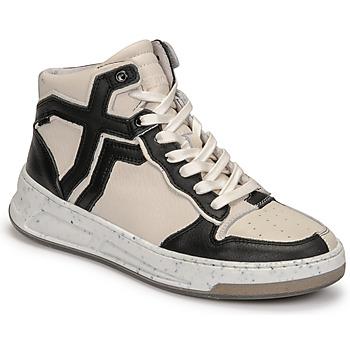 Schoenen Dames Hoge sneakers Bronx OLD COSMO Wit / Zwart