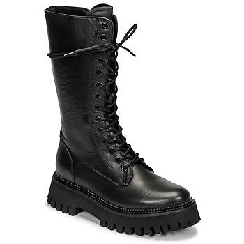 Schoenen Dames Laarzen Bronx GROOV Y Zwart
