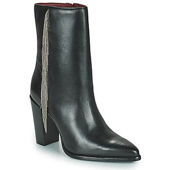 Schoenen Dames Hoge laarzen Bronx NEXT AMERICANA Zwart