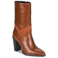 Schoenen Dames Hoge laarzen Bronx NEXT AMERICANA Brown