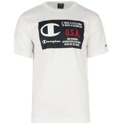 Textiel Heren T-shirts korte mouwen Champion T-shirt met ronde hals van  (215923) Multicolour