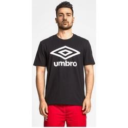 Textiel Heren T-shirts korte mouwen Umbro m/c T-shirt (00127) Zwart