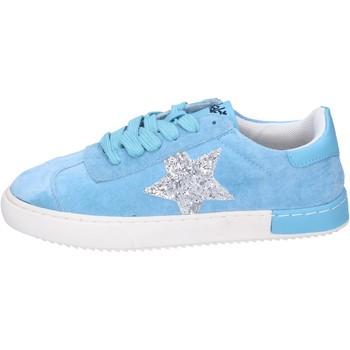 Schoenen Meisjes Lage sneakers Holalà Baskets BH09 Blauw