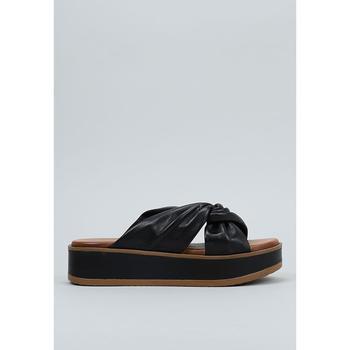 Schoenen Dames Leren slippers Sandra Fontan  Zwart