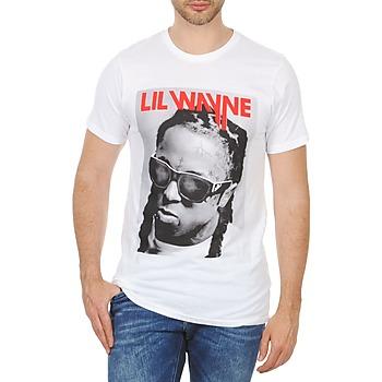 Textiel Heren T-shirts korte mouwen Eleven Paris APY M Wit
