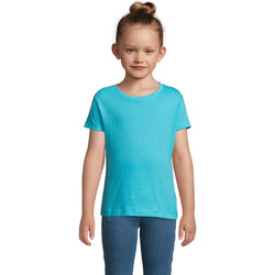 Textiel Meisjes T-shirts korte mouwen Sols CHERRY Azul Azul
