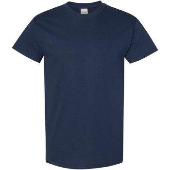 Textiel Heren T-shirts korte mouwen Gildan 5000 Marine