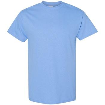 Textiel Heren T-shirts korte mouwen Gildan 5000 Carolina Blauw