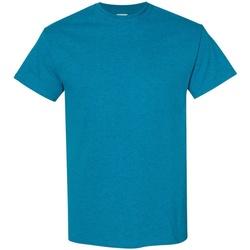 Textiel Heren T-shirts korte mouwen Gildan 5000 Antieke Saffier