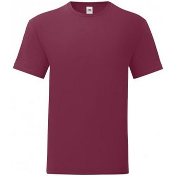Textiel Heren T-shirts korte mouwen Fruit Of The Loom 61430 Bourgondië
