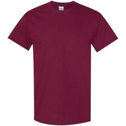 Textiel Heren T-shirts korte mouwen Gildan 5000 Marron