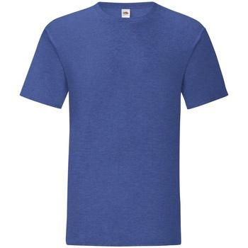 Textiel Heren T-shirts korte mouwen Fruit Of The Loom 61430 Heide Royal