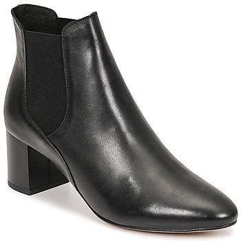 Schoenen Dames Enkellaarzen Betty London PANDINOU Zwart