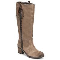 Schoenen Dames Hoge laarzen Betty London ELOANE Taupe