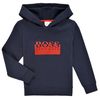 Textiel Jongens Sweaters / Sweatshirts BOSS MARKE Marine