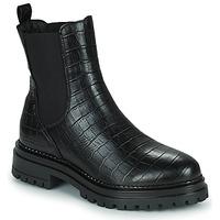 Schoenen Dames Laarzen Betty London PEDRO Zwart