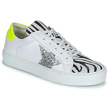 Schoenen Dames Lage sneakers Betty London PANILLE Wit