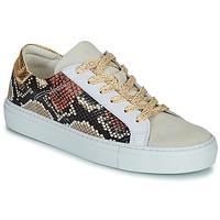 Schoenen Dames Lage sneakers Betty London PAGE Beige