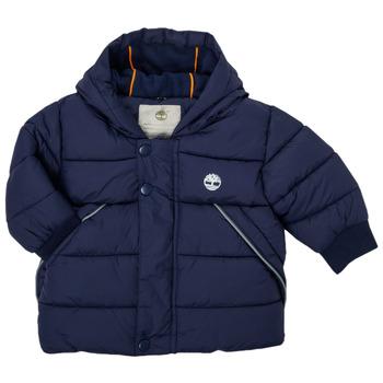 Textiel Jongens Dons gevoerde jassen Timberland ASSAGAC Marine