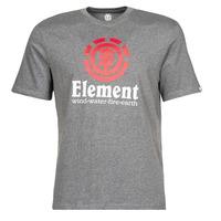 Textiel Heren T-shirts korte mouwen Element VERTICAL SS Grijs