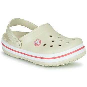 Schoenen Kinderen Klompen Crocs CROCBAND CLOG K Beige / Orange