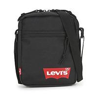Tassen Heren Tasjes / Handtasjes Levi's MINI CROSSBODY SOLID (RED BATWING) Regular /  zwart