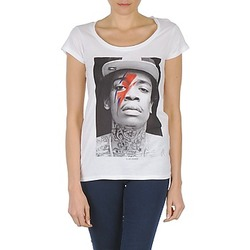 Textiel Dames T-shirts korte mouwen Eleven Paris KALIFA W Wit