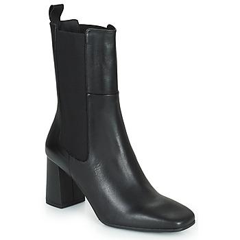 Schoenen Dames Enkellaarzen Betty London PASTILLE Zwart